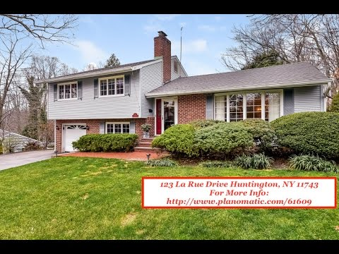 SOLD! 123 La Rue Drive Huntington, NY 11743   Single Family Home For Sale (Video By PlanOmatic)