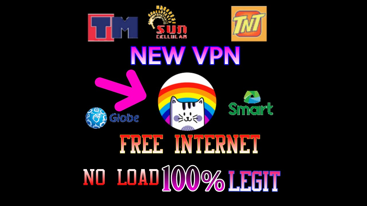 NEW FREE INTERNET NO LOAD [TUNNELCAT VPN] - TAGALOG