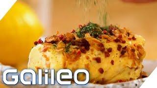 Schnellstes Frühstück der Welt? So gelingt Rührei in 15 Sekunden | Galileo | ProSieben