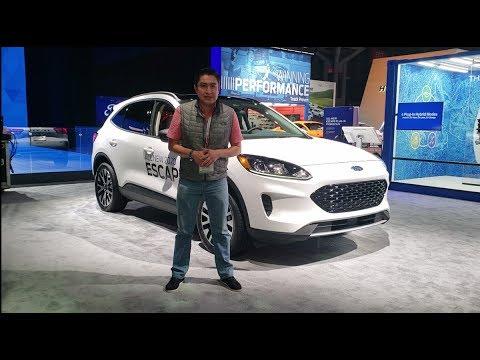 Ford Escape 2020, la nueva generación que llegará a México durante el 2019