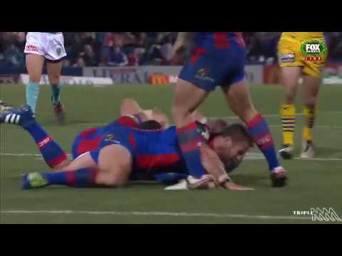 Korbin Sims High Tackle Should've Been A Send Off | Triple M