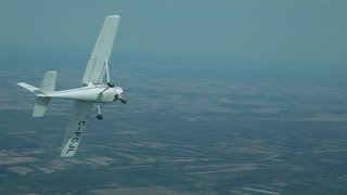 Cessna 152 Multiple Spins Recovery (Full HD)