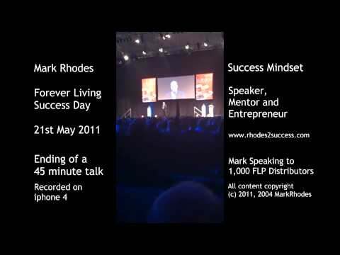 Mark Rhodes Speaking at May 2011 FLP Success Day