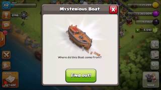 Clash of clans mystery boat | OFFICIAL May Update LEAKED! | MYSTERY UNVEILED!