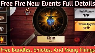 Free Fire New Event || Hell Cook Event || Full Details || Don't Waste Your Diamonds