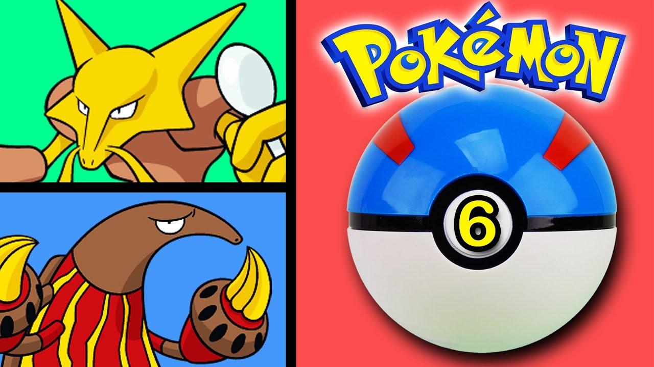 Pokemon Go toys episode #6 Heatmor, Kadabra game toy unboxing ... for Heatmor Pokemon  55dqh
