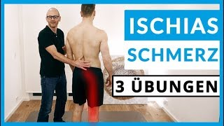 Ischiasschmerzen loswerden (3 SOFORT-Übungen)