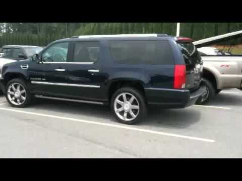 2008 cadillac escalade esv start up and short tour youtube. Black Bedroom Furniture Sets. Home Design Ideas