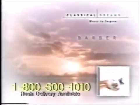 Classical Dreams CD  tv commercial