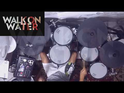 Walk On Water - Thirty Seconds To Mars(drum cover) by AlexD | Roland TD-30
