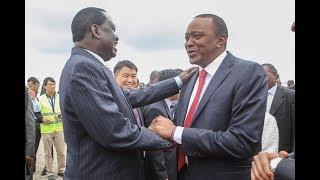 INFOTRAK:Raila 47%, Uhuru 46% ,IPSOS: Uhuru 47%, Raila 43%