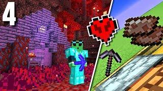 Hardcore Minecraft - Ep.4 : Nether Base/Netherite!