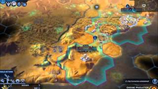 ASMR: Playing Civilization Beyond Earth (whisper/gum)
