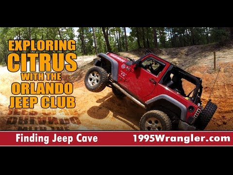 Jeep Ride In Citrus WMA With The Orlando Jeep Club 4k