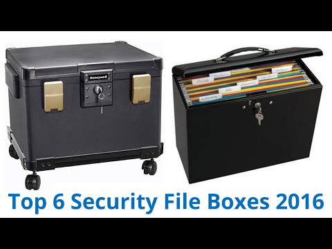 6 Best Security File Boxes 2016