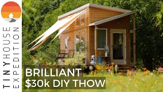 Couple's Brilliant Diy Tiny House With Home Office Space