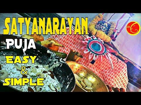 Satyanarayan Puja Vidhi Easy And Simple | Satyanarayan  Shinni Pujan | Purnima Puja