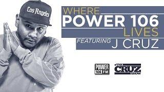 The Story Behind J Cruz of The Cruz Show - Where Power 106 Lives