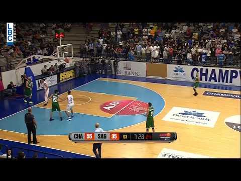 Alfa Basketball Championship - Champville v Sagesse - Fadi El Khatib Assist