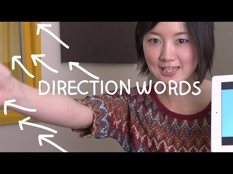 Japanese Words - Direction Words (Việt Sub)