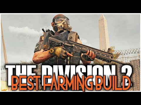 THE BEST FARMING DIVISION 2 PVE BUILD FOR DZ LAND MARKS | CLEAR LANDMARKS SOLO & FAST