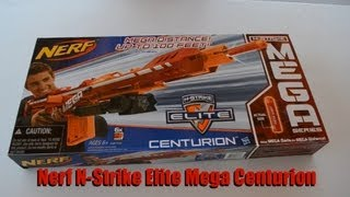 ~Unboxing~ Nerf N-Strike Elite Mega Centurion Unboxing Video ~Unboxing~