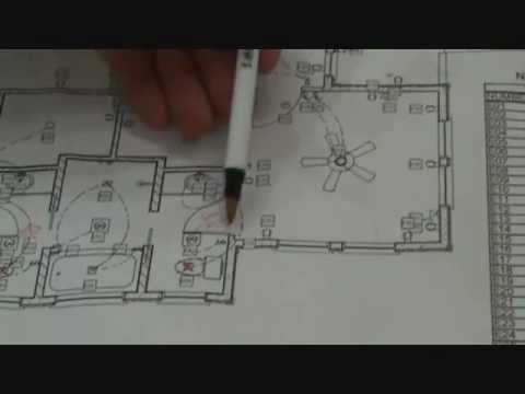 Reading an electrical drawing starts here - YouTube