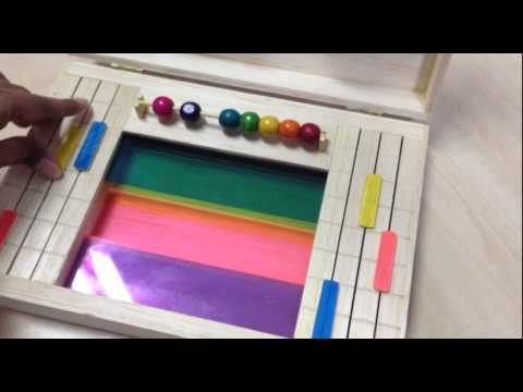 Color Wheel Toy - Model Making + Technical Drawing Subject