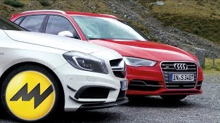 Audi S3 vs. Mercedes A45 AMG - Test it