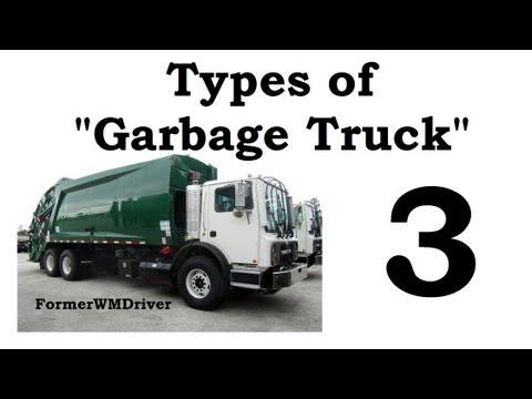 "Types of ""Garbage Truck"" 3"