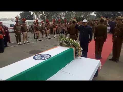 Wreath Laying Ceremony of Sub Inspector Imran Tak