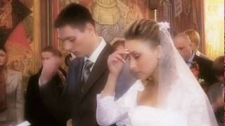 Венчание Анна и Алексей(Венчание в церкви., 2009-04-17T12:17:51.000Z)