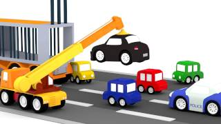 Lehrreicher Zeichentrickfilm - Die 4 kleinen Autos - Der Raser