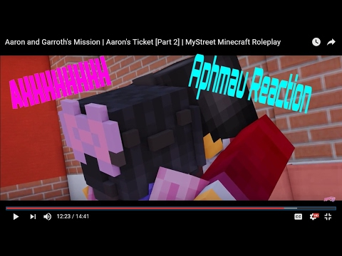 REACTING TO APHMAU|Aaron and Garroth's Mission | Aaron's Ticket [Part 2]