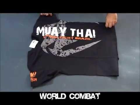 Camiseta Venum Muay Thai Shadow