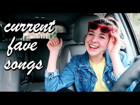 Spring Music Playlist 2018!! | Current Favorite Songs