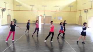 Kickick Line Dance ~ Saturday Night Fever