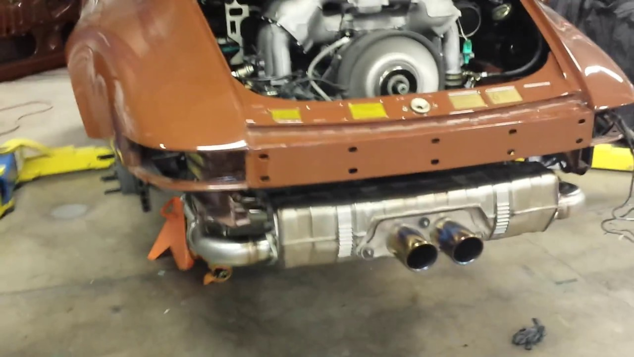 1975 911 Engine Swap Upgrade