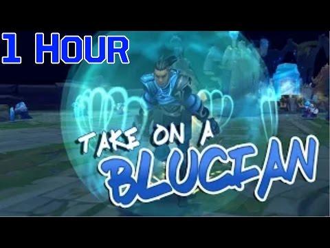 Instalok - Blucian (Cake By The Ocean PARODY)【1 HOUR】