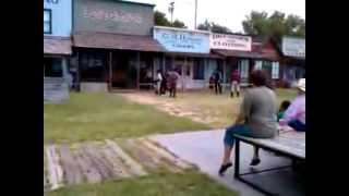 Dodge City, KS - Gunfight reenactment