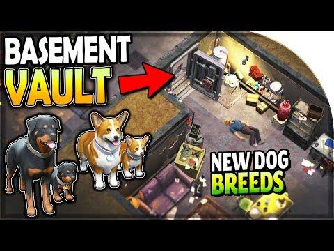 BASEMENT DUNGEON w/ a VAULT (NEW DOG BREEDS, ROTTWEILER, CORGI) - Last Day on Earth Survival