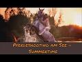 Pferdeshooting am und im See | 1. Mal Schwimmen mit Pferd | Ponyliebe Fotografie