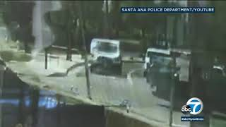 RAW VIDEO: Van takes off after slamming into grandmother in Santa Ana | ABC7