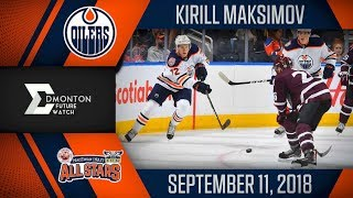 Kirill Maksimov | One Goal vs MacEwan Nait | Sep. 11, 2018