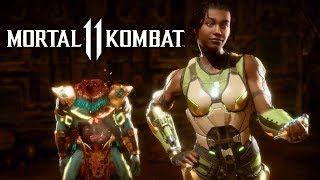 Mortal Kombat 11 - Official Kotal Kahn And Jacqui Briggs Reveal Trailer