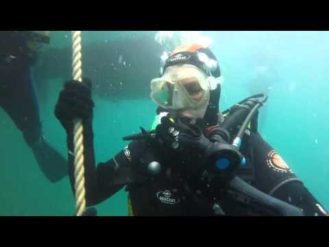 Rich & Liz 20 meter dive