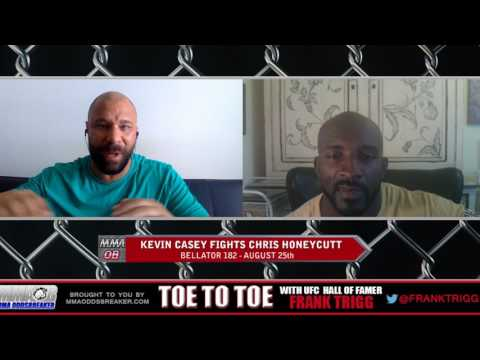 Frank Trigg pre-fight interview with Bellator 182's Kevin Casey