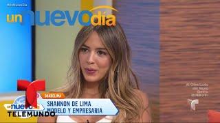 ¿Shannon de Lima y Pipe Bueno en un romance secreto? | Un Nuevo Día | Telemundo