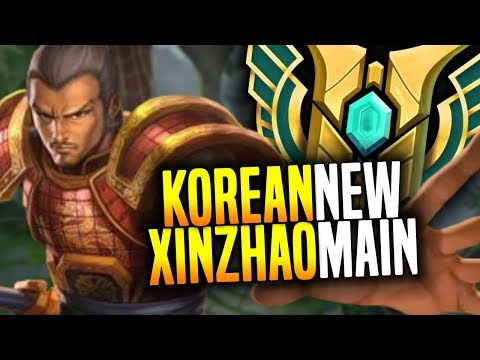 KOREAN Master XIN ZHAO MAIN Showing the POWER of NEW XIN ZHAO in TOP! | Korean Masters