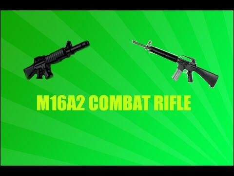 Pixel Gun 3D:M16A2 Combat Rifle